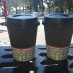 Cafe con leche at Costa Blanca